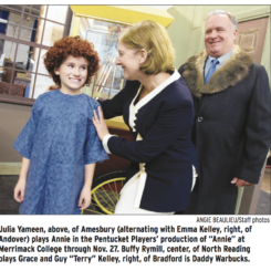 Sun comes out today with Pentucket Players' 'Annie'