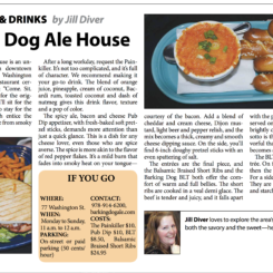Local Food & Drinks: Barking Dog Ale House, Haverhill, Mass.